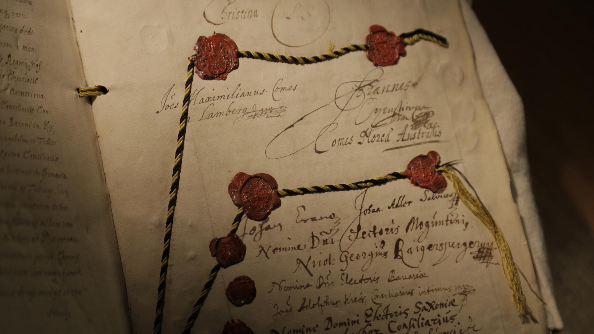 Der Friedensvertrag von Osnabrück